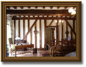 R novation des colombages et cr ation d un plafond la fran aise avec des an - Plafond a la francaise ...